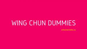 Wing Chun dummies