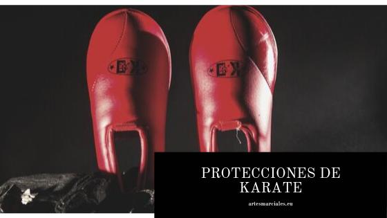 protecciones de Karate