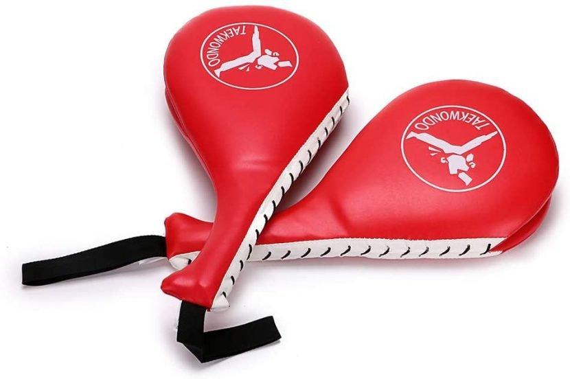 Manopla entrenamiento de patadas en taekwondo, kárate, kickboxing, MMA 1